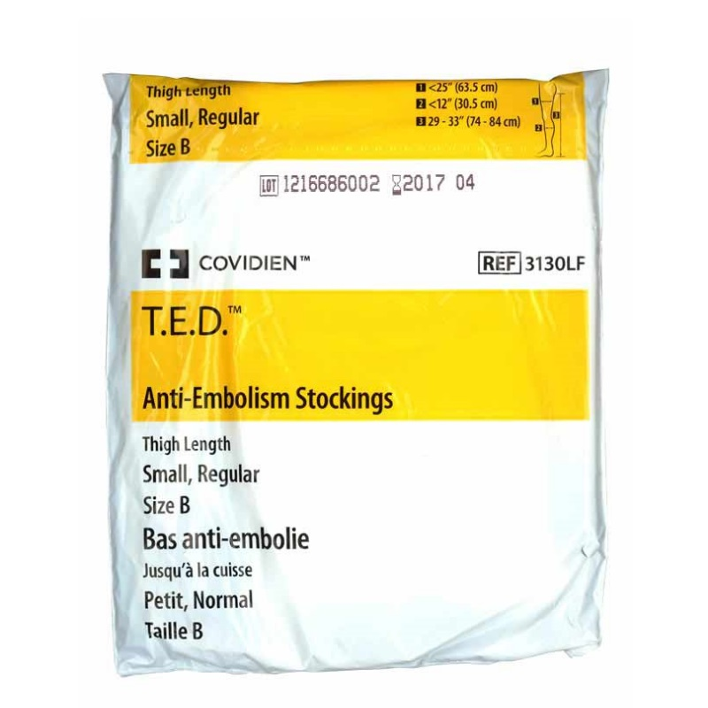 T.E.D Covidien Stockings Thigh Size B
